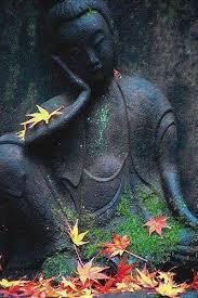 bouddha automne
